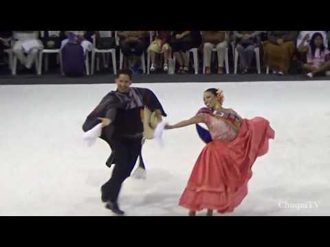 Asia 2018. Cynthia Vargas y Miguel Olave. Campeones Mundiales de Marinera Adulto