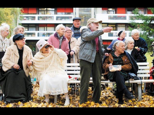 元五輪金メダリストの老人がベルリンマラソンに挑戦!映画『陽だまりハウスでマラソンを』予告編