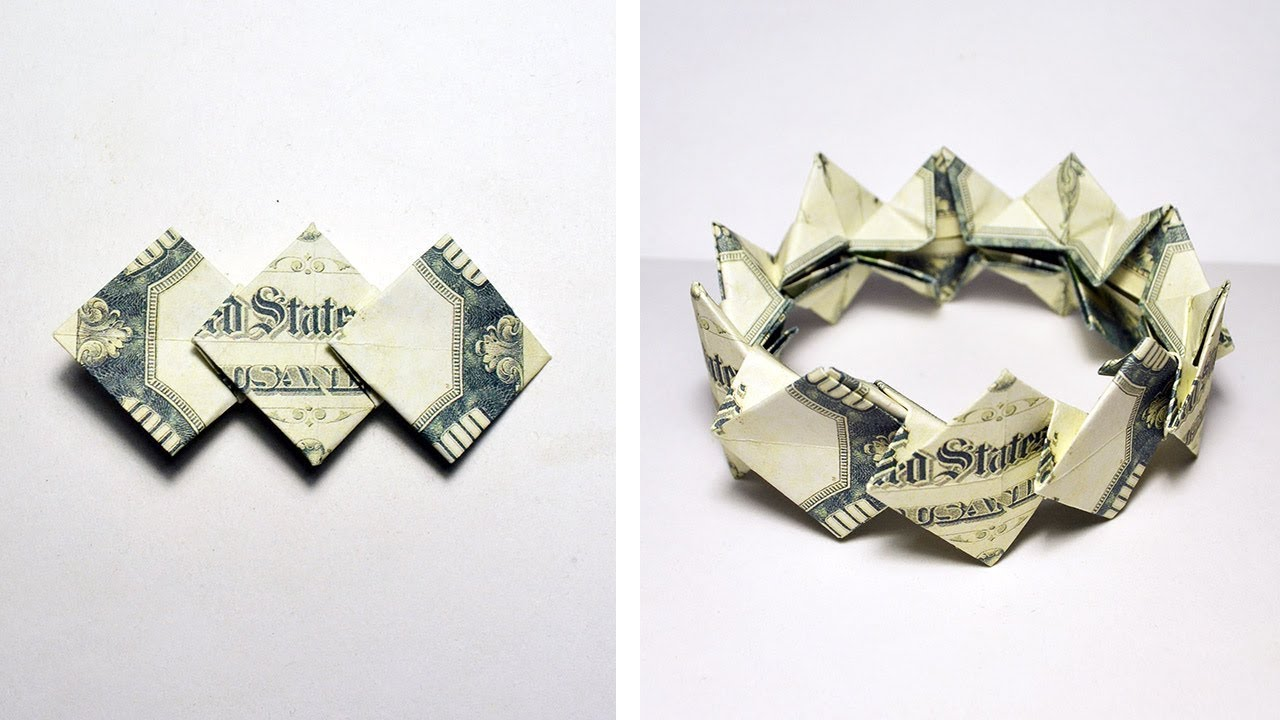 Stunning Origami Made Using Only Money | I Like To Waste My Time | 720x1280
