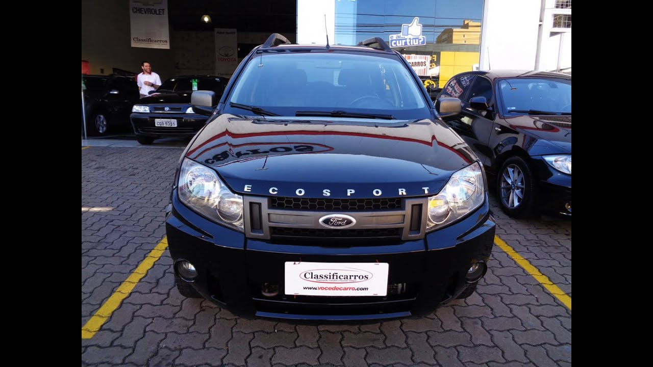 Ford Ecosport Freestyle 1 6 8v  Flex  - 2009