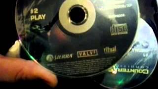Counter Strike: Condition Zero Original DVD ROM 2004 Unboxing