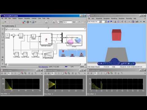 Matlab Simulink Bouncing Box Vrml Demo