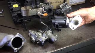 VW Touareg 2008 - Removing the EGR valve