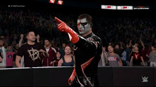 WWE 2K16 (PS4) - Finn Balor vs Stardust Extreme Rules Match Gameplay