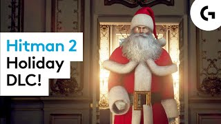 SANTA SLAYS - Hiтman 2 Holiday Hoarders let's play