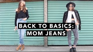 back to basics mom jeans