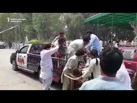 Blast Targets Pakistan Election Candidate