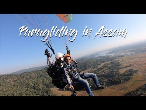 Paragliding at Assam
