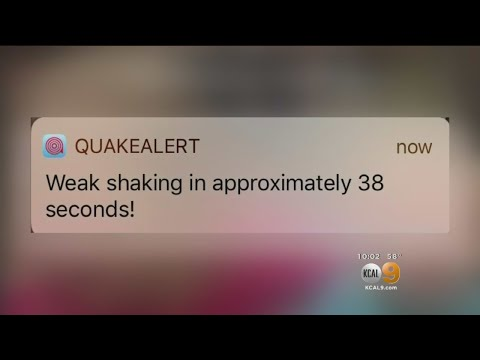 M5.3 Earthquake Puts Early Warning App To The Test
