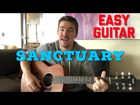 Sanctuary | First Worship Song | Beginner Guitar Lesson | 3 Chords