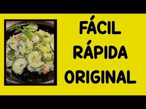 Ensalada Fácil y Rápida para Bajar de Peso. Muy Original!!!