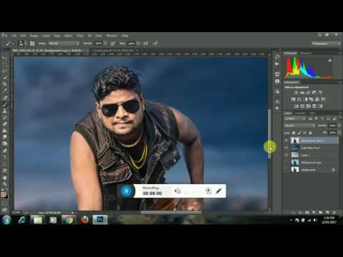 Swappy Pawar Editing Video In Adobe Photoshop By Pavan Edits