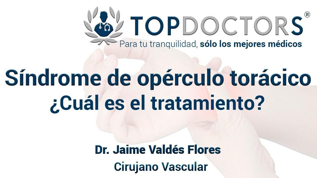 Síndrome del opérculo torácico - ¿En qué consiste el tratamiento ...