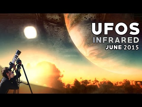 UFO Sightings: INFRARED UFOS (!!) INVISIBLE ORBS Hidden World 18+ UFO Captures! Newport Beach 2015