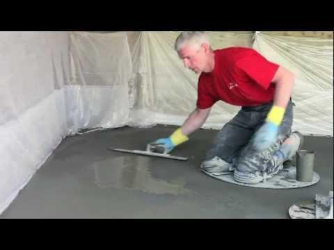 Voorkeur Berkers-Vloeren-cementdekvloer.mov - YouTube YR59