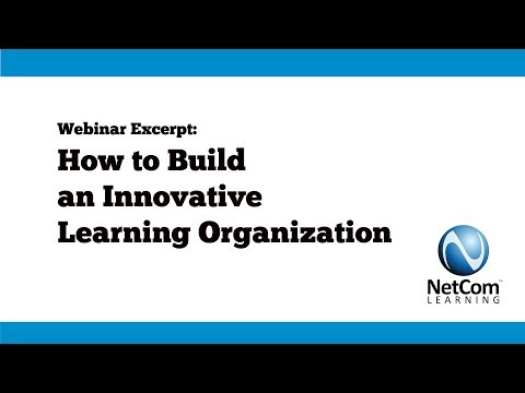 2017 12 06 Webinar Excerpt - How to Build an Innovative Learning Organization