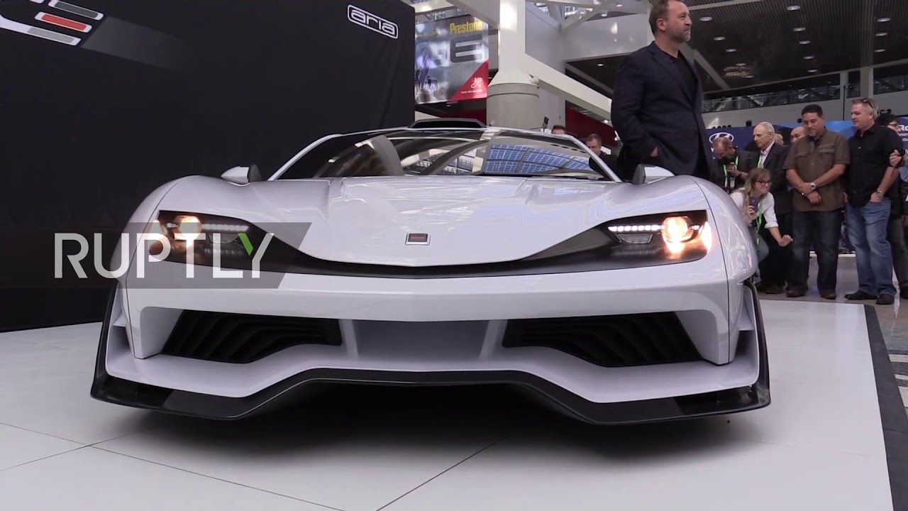 USA Californian Carmakers Aria Group Unveil FXE Supercar At LA Auto - Car show usa
