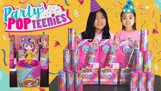 Party POP TEENIES ~ Sent By  SpinMaster #partypopteenies