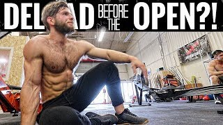 TRAINING LIKE A REGIONALS ATHLETE + His Deload Plans for the Open