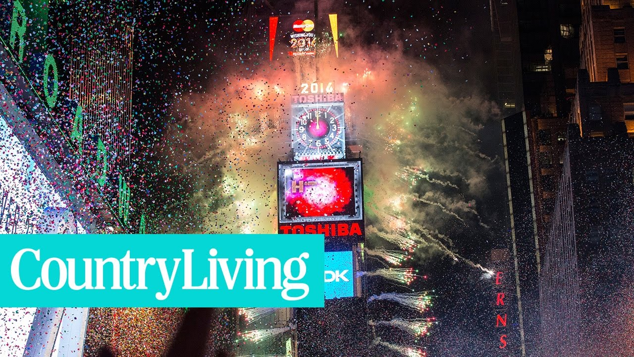 7 Things to Know About the New Year's Eve Ball in Times Square | Country Living