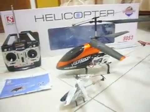 Double Horse 9053 Volitation R C Helicopter (Out Of The Box).flv