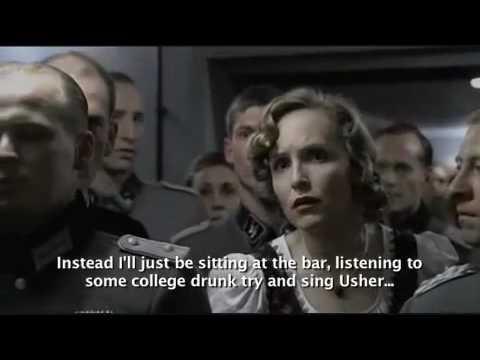 Hitler gets Flustered - subtitle spoof