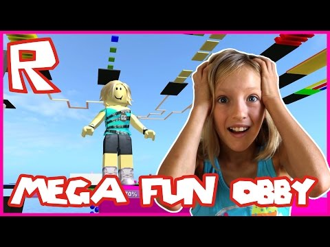 Thumbnail: Mega Fun Obby / Insane Obby / Roblox