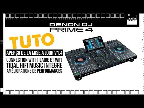 TUTO DENON DJ - Prime 4 - Aperçu du nouveau Firmware PRIME v1.4 ! (vidéo La Boite Noire)