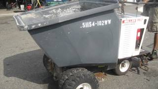 Miller Scoot Mb21 Concrete Buggy