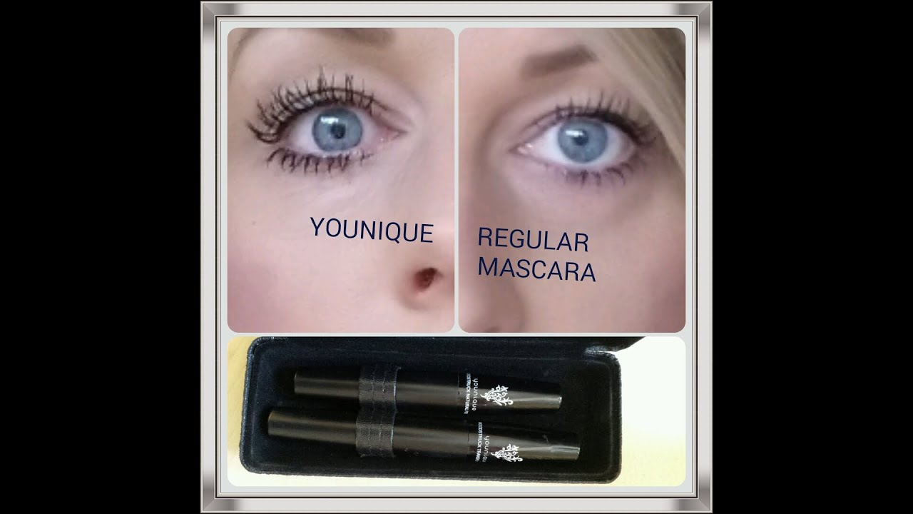 YOUNIQUE 3D FIBER LASHES - DEMO AND REVIEW - YouTube