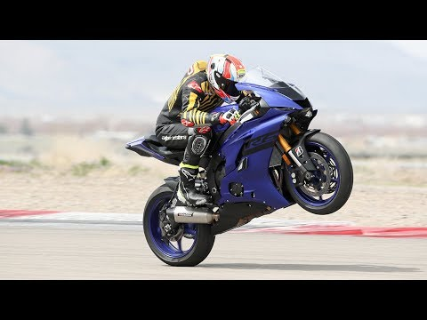2018 Yamaha YZF-R6 First Ride Track Review