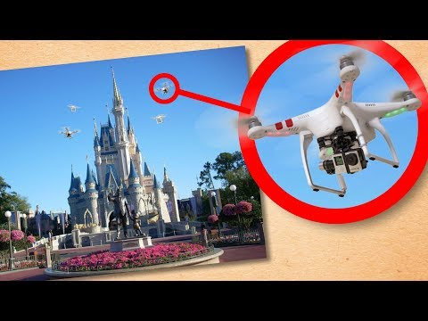 Flying a Drone in a Disney Park? | Disney's No-Fly Zones