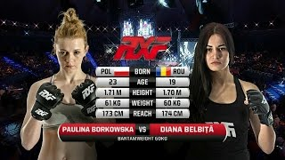 RXF 22: Paulina Borkowska vs Diana Belbita