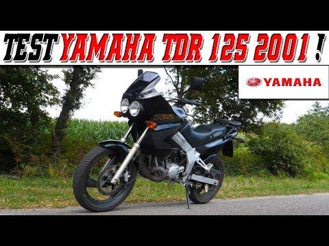 #MotoVlog 182 : TEST YAMAHA TDR 125 2001 / Même bridée ça watt !
