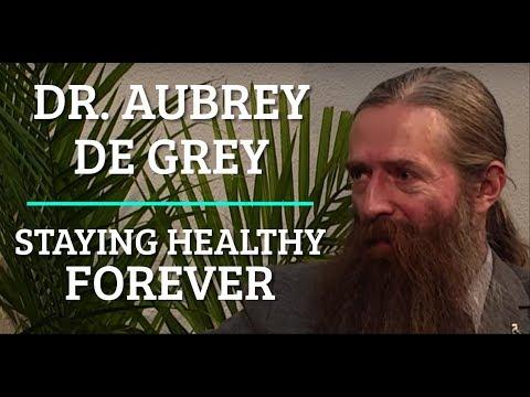 #42 Dr. Aubrey de Grey - Staying Healthy Forever