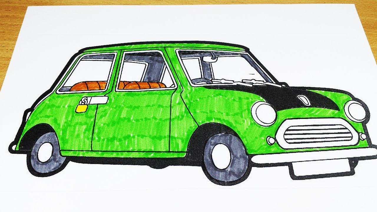 Coloring Pages Mr Bean Car Coloring Videos Mr Bean