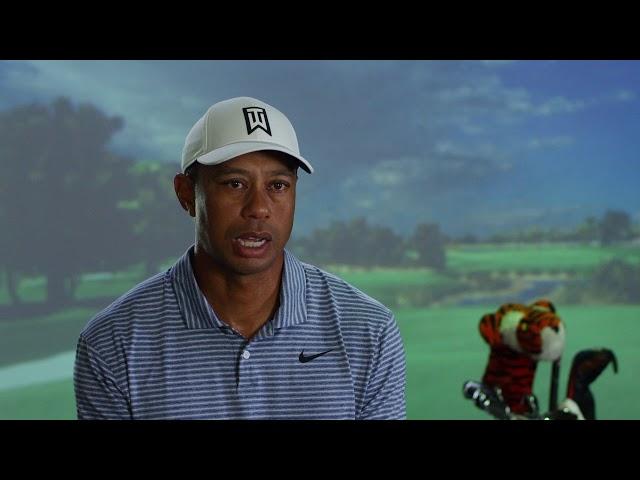 Tiger Woods & Full Swing Simulator In His Home