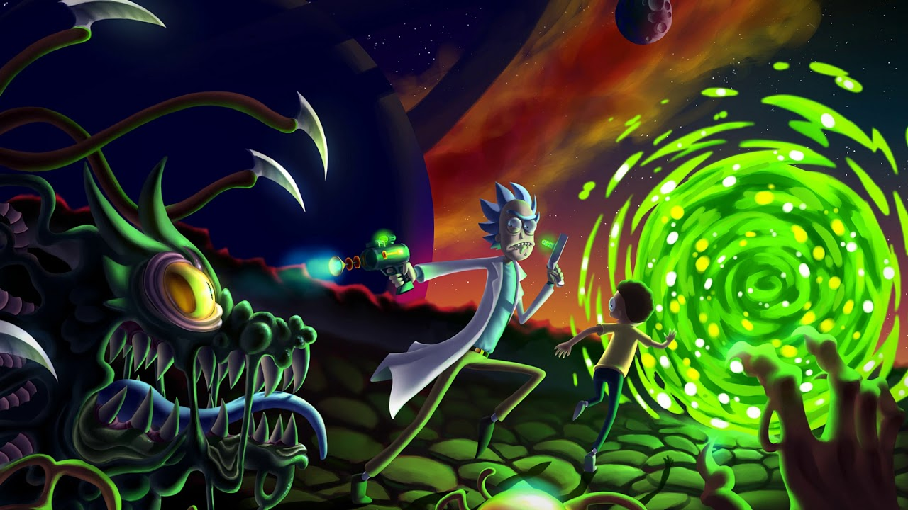 Wallpaper Engine Rick And Morty Youtube