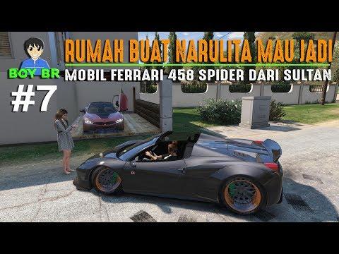 KISAH SEORANG DRIVER GOJEK - REAL LIFE Part 7 - GTA 5 MOD INDONESIA