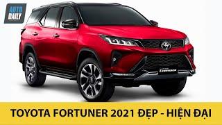 Toyota Fortuner 2021 - PHẢ HƠI NÓNG lên Ford Everest và Hyundai Santa Fe |Autodaily.vn|
