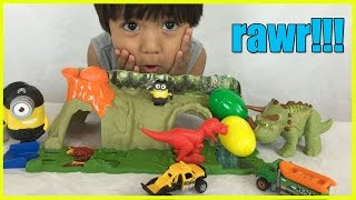 DINOSAUR TOYS Matchbox Mission Dino Raiders from Jurassic World