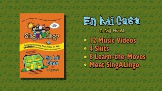 En Mi Casa DVD | Official Trailer| Spanish Songs for Kids | SingALingo