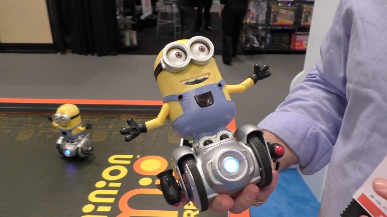 Minion Camera App : Minion mip turbo dave from wowwee first look toy fair youtube