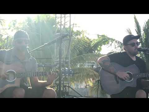 Eric Rachmany And Kyle Ahern - Fade Away Live Acoustic