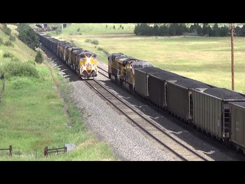 Union Pacific Meet At Rollinsville, CO / Moffat Tunnel Sub