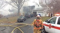 Fire & EMS radio traffic from Gaithersburg, MD plane crash