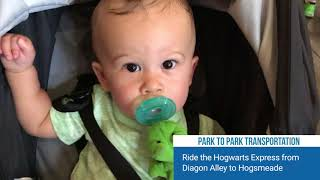 The Wizarding World of Harry Potter with a Baby