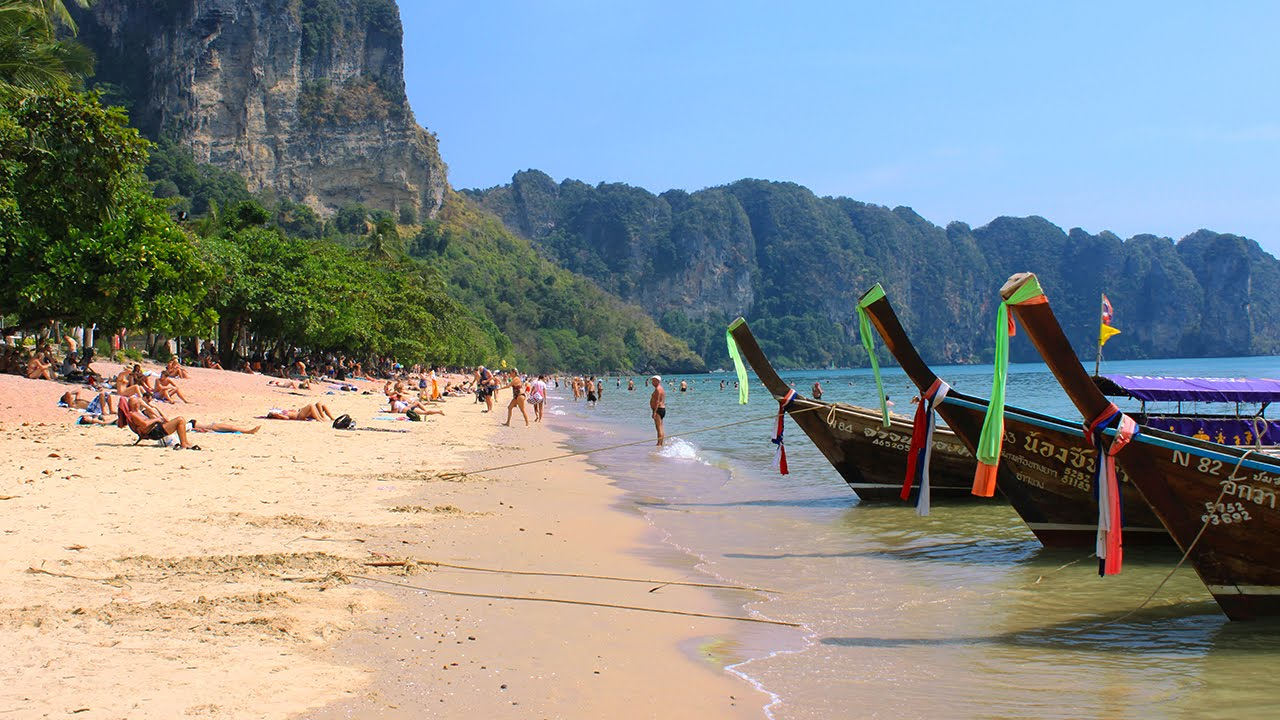 Ao Nang  Aonang Beach  Krabi - YouTube