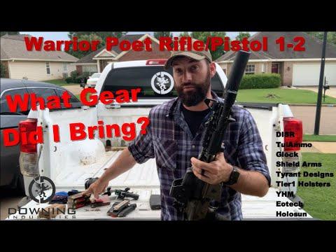 Warrior Poet Rifle/Pistol Gear Review & Overall Class Breakdown