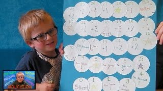How to Master Adding & Subtracting 1 & 2 | Maths Board Game | Kids Educational Videos